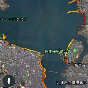 琵琶湖南湖南エリア水中マップ