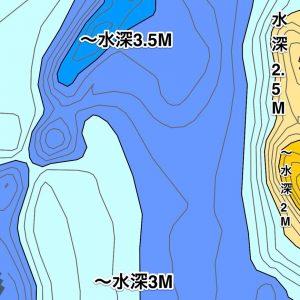 琵琶湖雄琴港水中マップ