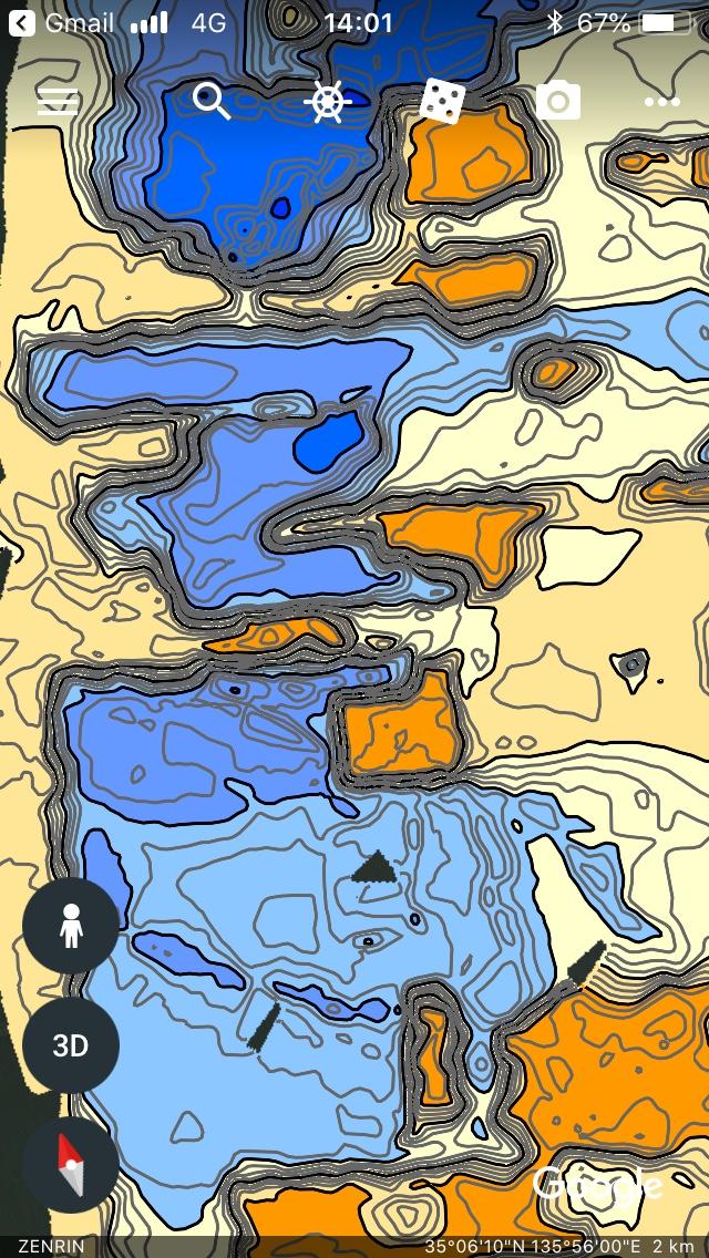 浚渫画像マップ一部