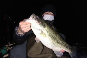 冬のネコソギDSRで釣れた琵琶湖デカバス