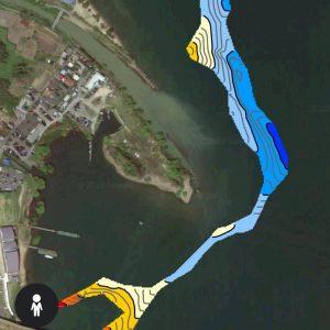 琵琶湖水中マップテスト