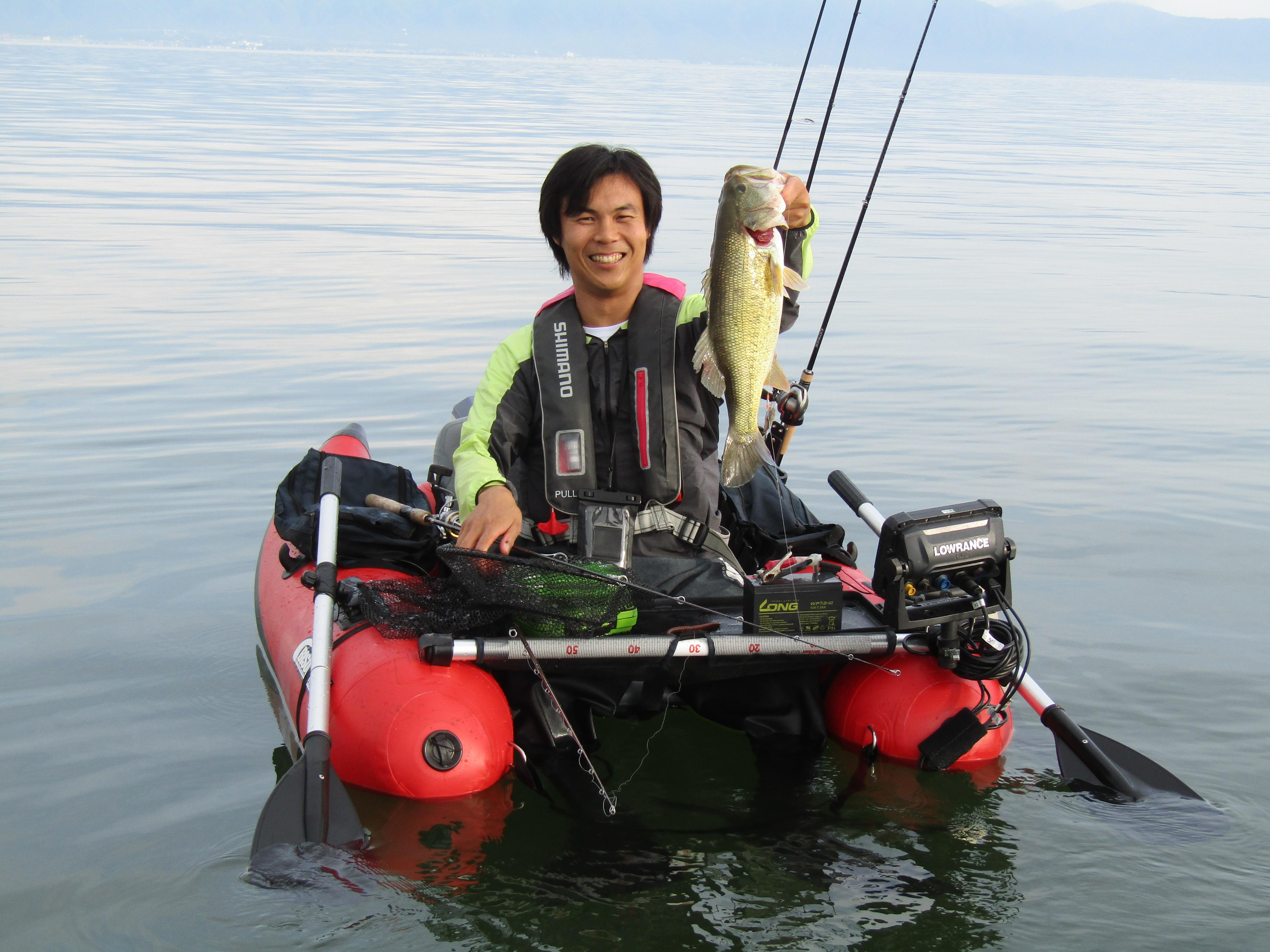 琵琶湖フローターガイド写真