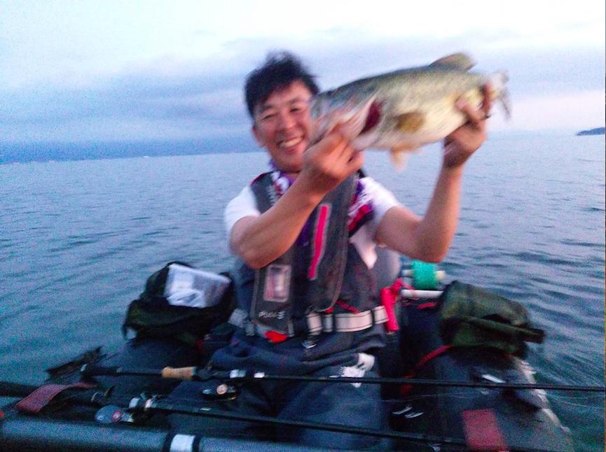 琵琶湖ナイトガイド釣果2